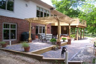 An example of our landscaping services in Gloucester, VA